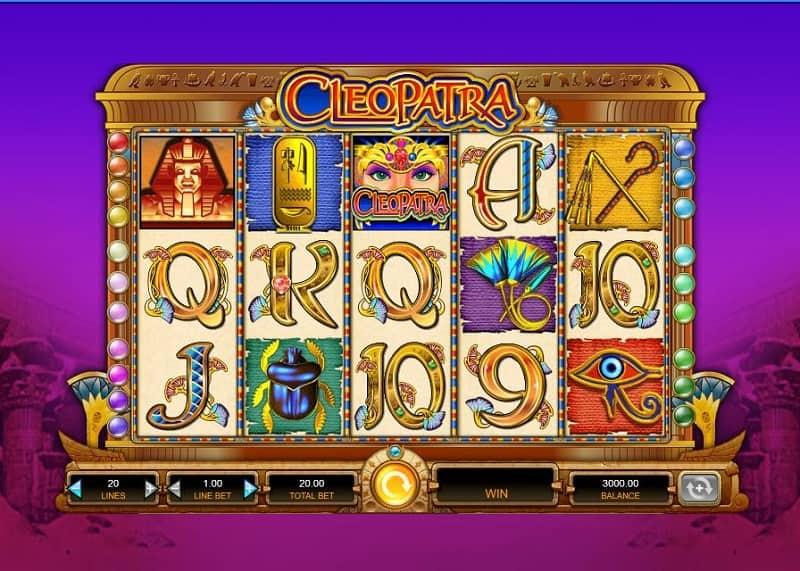 Cleopatra kolikkopeli