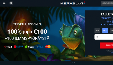 Megaslot Casino bonus
