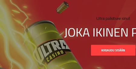 Ultra Casino päivittäiset palkinnot