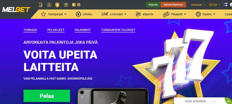 Melbet Casino kampanjat