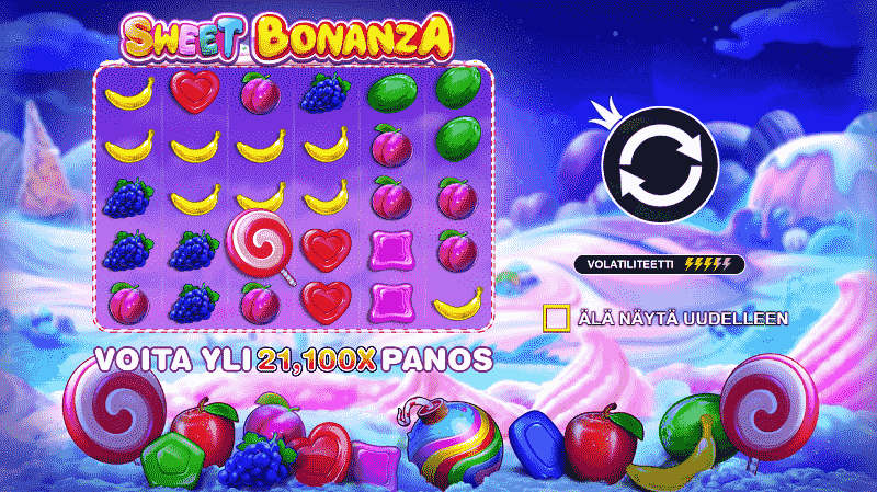 Sweet Bonanza kolikkopeli
