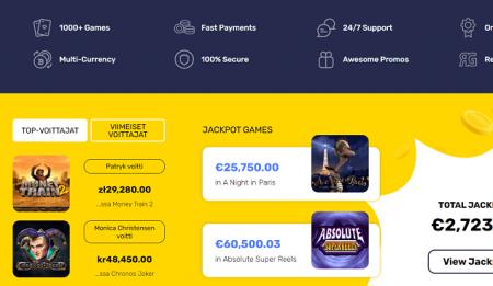 InstantPay Casino jackpotit