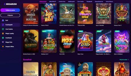Megarush Casino kolikkopelit