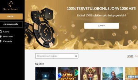 Super Seven Casino teema