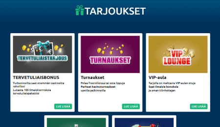 Turbonino Casino kampanjat