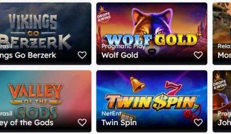 Uberlucky Casino kolikkopelit