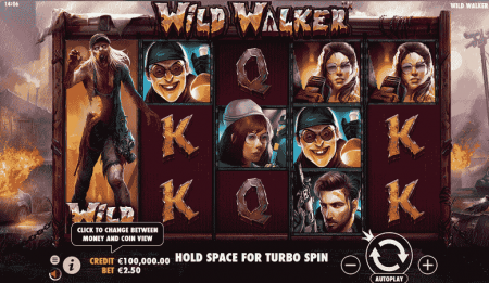 Wild Walker kolikkopeli