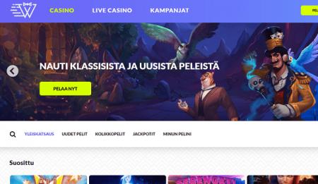 InstantWest Casino etusivu