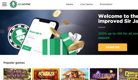 Sir Jackpot Casino nobus