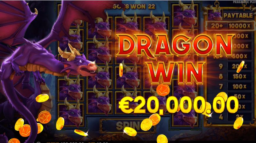 Drago - Jewels of Fortune Dragon Win