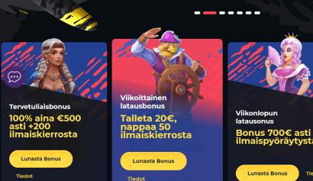 Boomerang Casino kampanjat