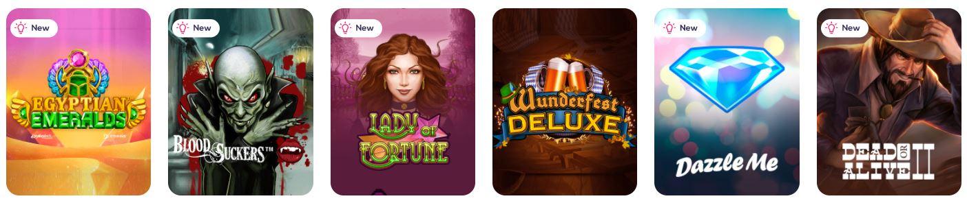 Wild Fortune Casino kolikkopelit