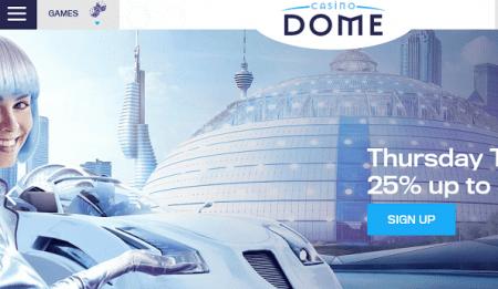 Casino Dome bonus