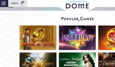 Casino Dome pelit