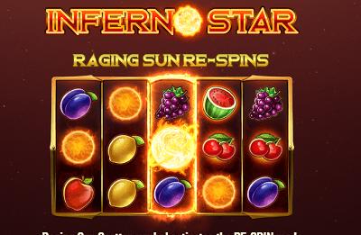 Inferno Star kolikkopeli