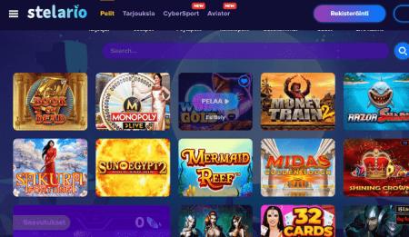 Stelario Casino pelit