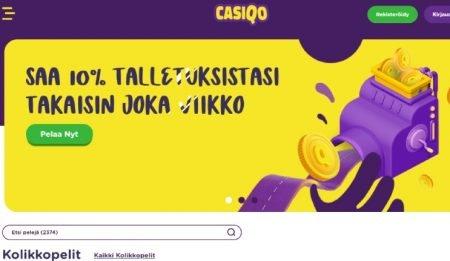 Casiqo Casino teema