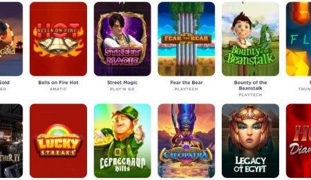 Casiqo Casino kolikkopelit