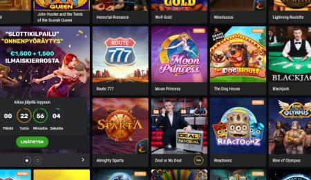 Betamo Casino kolikkopelit
