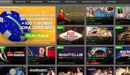 SpinRio Casino livekasino