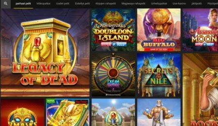 18 Bet Casino kolikkopelit