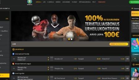 18 Bet Casino vedonlyönti