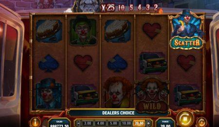 3 Clown Monty scatter