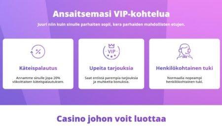 Casino days VIP ohjelma