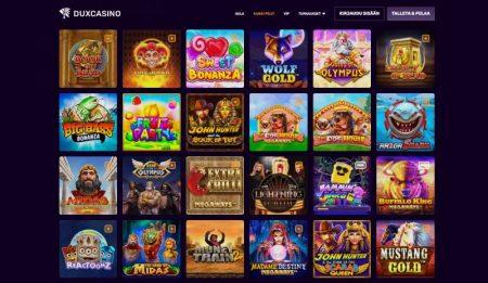 Dux Casino kolikkopelit