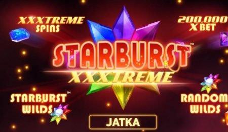 Starburst xxxtreme aloitus