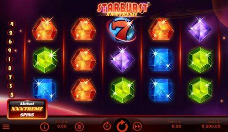 Starburst xxxtreme peruspeli