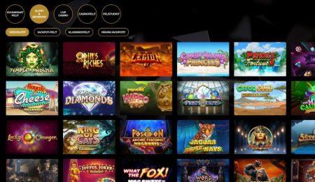 Vegasoo Casino kolikkopelit