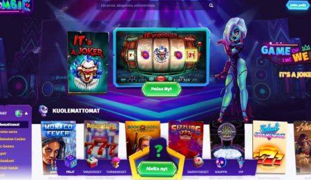 Casombie Casino kolikkopelit