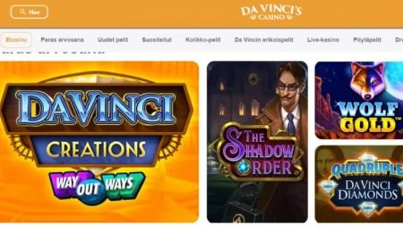 Da Vinci's Casino kolikkopelit