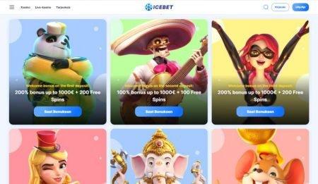 IceBet Casino bonukset