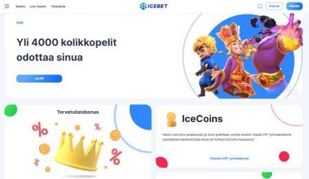 IceBet Casino kauppa