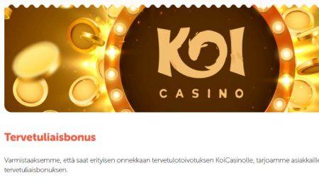 Koi Casino tervetulobonus