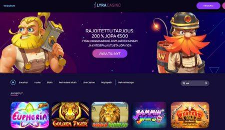 Lyra casino etusivu