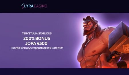 Lyra Casino tervetulotarjous