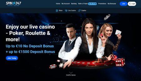 Spin247 Casino livekasino