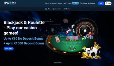 Spin247 Casino pöytäpelit